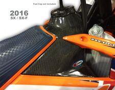 Pro Carbono Cubierta del tanque KTM Top SXF250/350/450 2016 - 2018
