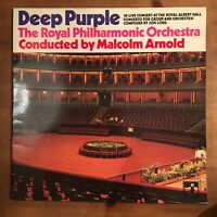 Deep Purple	Concerto For Group & Orchestra	LP	G/fold Sleeve And Laminated Cover