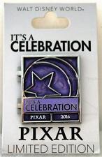 DISNEY IT'S A PIXAR PARTY CELEBRATION 2016 UP CARL ELLIE COUPLE PURPLE PIN 750