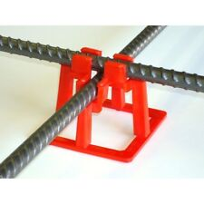 1.5 in. Rebar Chairs 50-Pack Support System Concrete Slab Cement Pouring Holder
