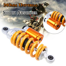 1x240mm Motorcycle ATV Scooter Rear Air Shock Absorber Suspension fit for Honda
