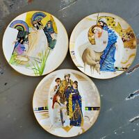 Biblical Mothers by Eve Licea Collectible Plates Set Of 3 Knowles