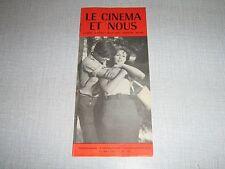 LE CINEMA ET NOUS 130 (19/5/61) JEANNE VALERIE SOREL