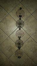 "Tea Light Wall Sconce 37"" x 6"""