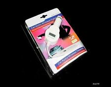 iPod Nano Touch Classic White In Car FM Transmitter & Charger