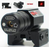 US Mini Red Dot Laser Sight 11/20mm Picatinny/Weaver Rail for Pistol G17/19/22