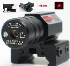 Tactical F Rifle Pistol Gun Mini Red Dot Laser Sight Fit 11/20mm Picatinny Rail
