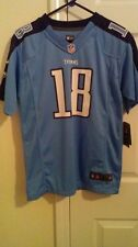 AUTHENTIC TENNESSEE TITAN YOUTH NIKE KENNY BRITT JERSEY LARGE