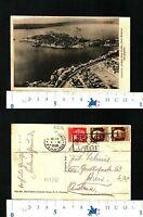 SIRACUSA-ORTIGIA (SR) - PORTO GRANDE E PORTO MARMOREO (DAL DIRIGIBILE) - 55267