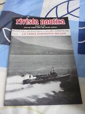 RIVISTA NAUTICA FONDATA NEL 1892 N. 8 AGOSTO 1940 LA CANOA STRUMENTO BELLICO
