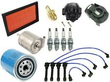 For KA24DE OEM Tune Up KIT Oil Fuel Filters Spark Plugs for Nissan Altima 2.4L