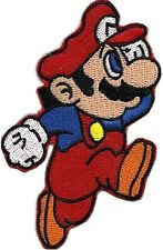 Super Mario Cartoon Video Game Appliques Embroidered Iron on Patch