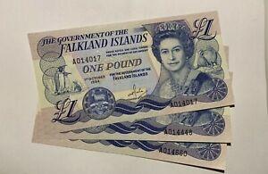 Falkland Islands 1 Pound, 1984, P 13a, UNC. price for 1 piece