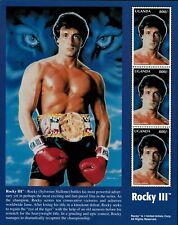 Uganda 1996 - Rocky Iii - Sheet of 3 (Scott #1456) - Mnh