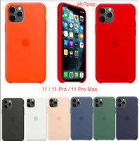 iPhone 11 / 11 Pro / 11 Pro Max Original Apple Silikon Hülle Case - 16 Farben