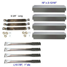 Charbroil Gas Grill Replacement Crossover Tubes and Burners,Heat Plates