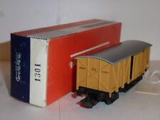 0124-Electrotren 1301 vagón cerrado puertas deslizantes R.N         H0 -1/87
