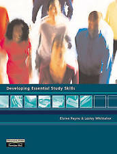 """""""VERY GOOD"""" Developing Essential Study Skills, Whittaker, Ms Lesley, Payne, Ms E"""