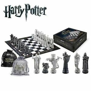 Harry Potter Chess Set The Noble Collection, Factory Sealed Box Wizard (NEW)