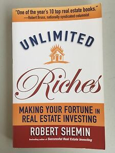 Unlimited Riches Making Your Fortune In Real Estate Home Investing Build Wealth