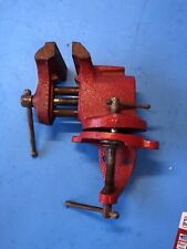153 2 Columbian Swivel Bench Vise 3 Jaws Open To 3