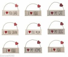 Heart Mum Decorative Plaques & Signs