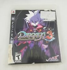 Disgaea 3: Absence of Justice (Sony PlayStation 3, 2008) PS3 Complete