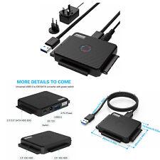 """FIDECO Adattatore Hard Drive USB 3.0 a IDE e SATA Converter per 2,5"""" e 3,5""""IDE/"""