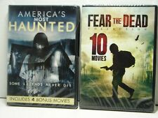 Fear the Dead Collection & America's Most Haunted DVD 15 Movies NEW SEALED