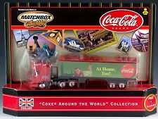 Matchbox Coca-Cola DAF Space Cab Coke Around The World England New