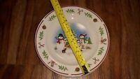 Snowmen Bread Salad Plates Set Of 6