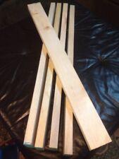 Balsa Wood 2 X 4 X 36 5 Pieces  Free Shipping  (3 3/4 x 1 3/8 x 37 exactly)