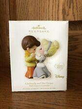 Hallmark Keepsake Precious Moments Cinderella and her Prince Ornament Euc Disney