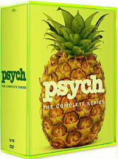 Psych: The Complete Season 1-8 (DVD, 2014, 31-Disc Set) NEW FAST SAME DAY SHIP