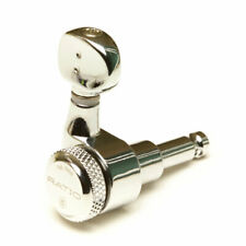 Graphtech PRL-8731-C0 Chrome Ratio 6 in Line Locking Electric Tuners