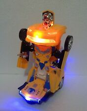 ROBOT TRANSFORMER & CAR 2 IN 1 - ROBOT RACES COLLECTION 11 DIFFERENT ROBOT CARS