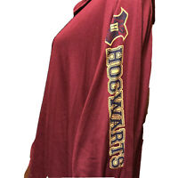 Harry Potter Hogwarts Open Cardigan Size M Hoodie Lightweight Sweatshirt