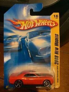2008 Hot Wheels New Models Dodge Challenger SRT8 #16 Red