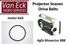 Agfa Movector 888 - 2 belt set (motor belt and top belt)
