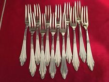 Set of 12 WMF German Silver Plate Cocktail/Hors D'oeurves  Forks Mint Cond