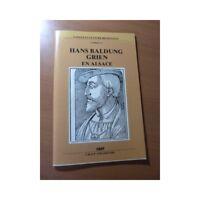 Hans Baldung Grien en Alsace. Cahier N° 8 Langue et culture régionale