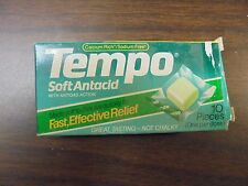 VINTAGE Tempo Soft Antacid with anti gas action Calcium Rich Sodium Free