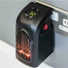 DAEWOO Compact 400W plug-in riscaldatore elettrico digitale presa a muro riscaldamento istantaneo