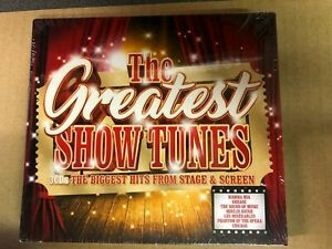 The Greatest Show Tunes CD Mamma Mia/Grease/Chicago/Les Mis... NEW Sealed WA2