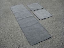 Caravan/Motorhome Interior Floor Carpet Mats - MID GREY Various Sizes Available