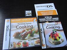 Nintendo DS: Personal Trainer: Cooking complete in case & tested