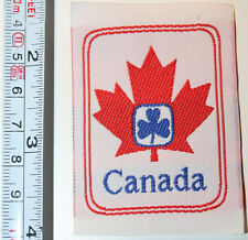 Girl Guides Canada Brownies Fabric Label Patch Logo