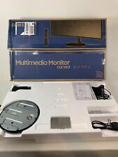 "Samsung CF39M 32"" Curved 1800R FHD 1920x1080 HDMI 60hz 4ms LCD Monitor CRACKED"
