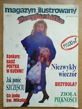 MIP Magazyn Ilustrowany Przyjaciółka Nr 10 Grudzień 1992 Polish Magazine