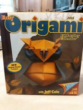New: 2014 Easy Origami Fold A Day Calendar Paper Folding Art & Crafts Activity